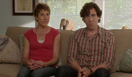 3x05 Episode 5 - Beverly (Tamsin Greig) and Sean (Stephen Mangan) are attending a session at the sex therapist's