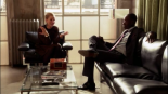 HOUSE OF LIES: 3x12 Joshua - Marty Kaan (Don Cheadle) discovers that he has been betrayed by his partner in life and co-CEO Jeannie van der Hooven (Kristen Bell)