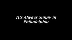 the series philosopher It's Always Sunny in Philadelphia wiki