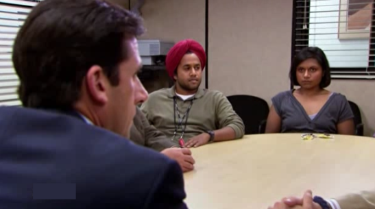 the series philosopher the office sikh kelly